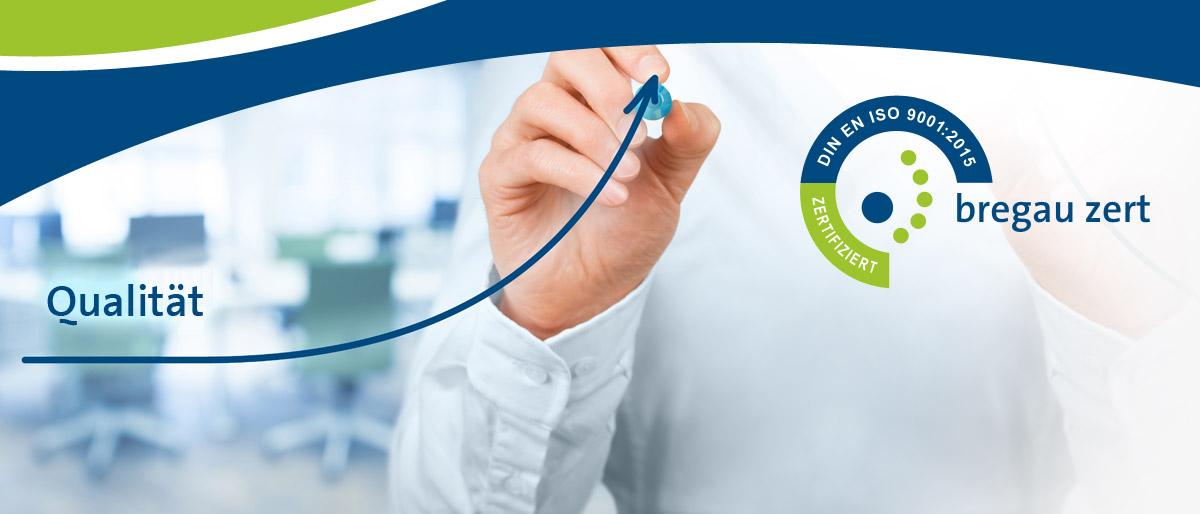 Permalink auf:ISO 9001 Zertifizierung Qualitätsmanagement